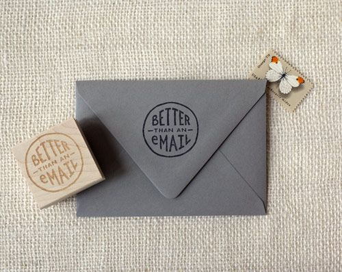 better than an email stamp | Wit & Whistle