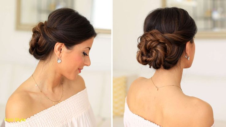 Inspirationally simple wedding hair updos