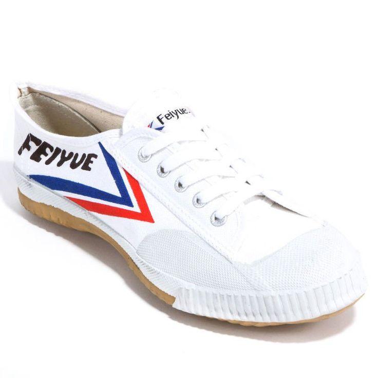 White Feiyue Martial arts / Kung Fu shoes.