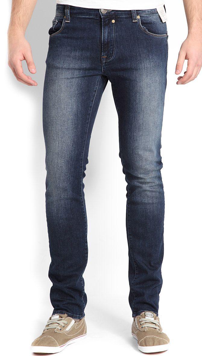 Мужские джинсы Calvin Klein - модный образ для стильных мужчин