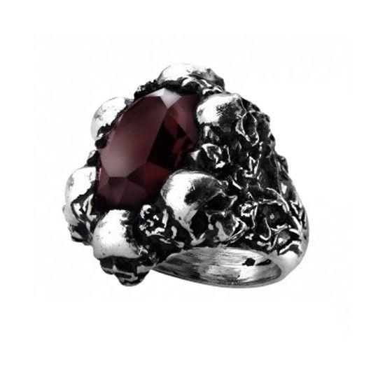 Shadow of death ring by alchemy of england jewelry for Michael b jewelry death