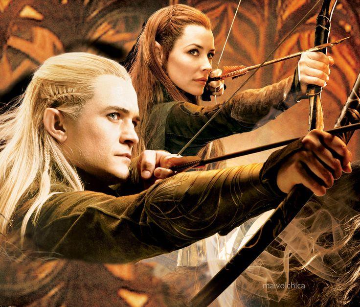 hobbit 2 legolas and tauriel relationship