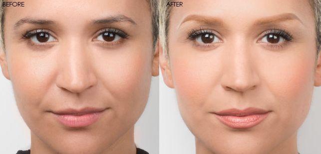 how to lighten eyebrows using hydrogen peroxide