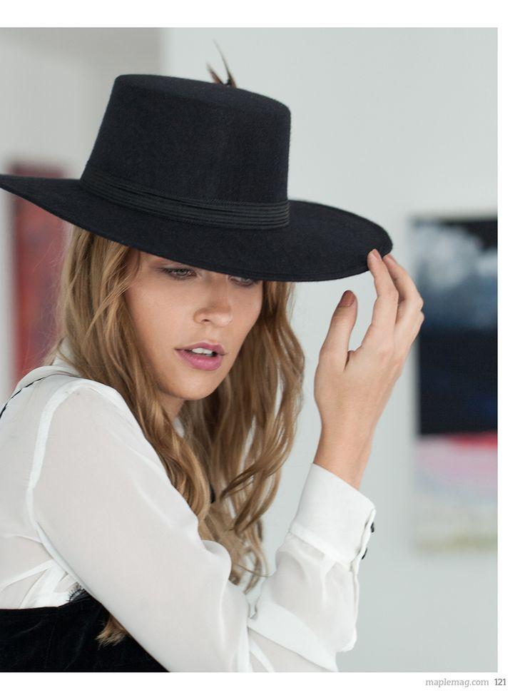 no. 001 photo: Marco Sotomayor. model: Corina Lutzki. stylist: Juka. makeup & hair: Lalo Figueroa. locación: Fifty24 Mx. blusa blanca con corbatín: Angela Reyna, blusa de terciopelo negro: H&M, collar: Rapsodia, sombrero: Cuadra, falda: Zara. http://maplemag.com/  #maplemag #InherentNature #ForYoungHearts #HotCouture