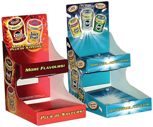 Gum POP Display