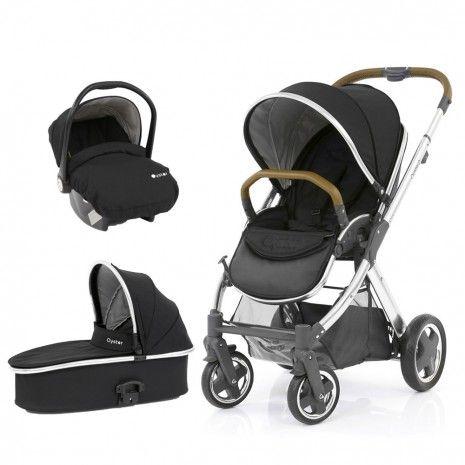 Babystyle Oyster 2 Travel System - Ink Black