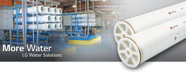 Reverse Osmosis (RO) Membranes, Water Desalination - LG Water Solutions