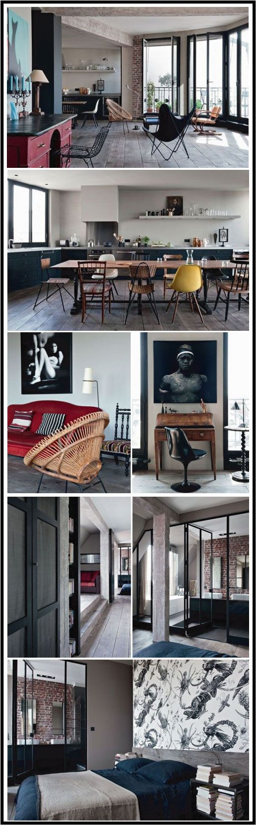 Antonio Virga Loft Paris