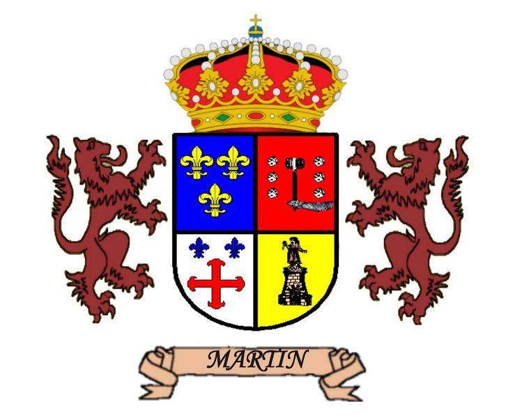 Resultado de imagen de el escudo de gutierrez martin apellidos