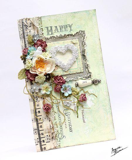 Prima blog: Birthday card by Ingvild Bolme