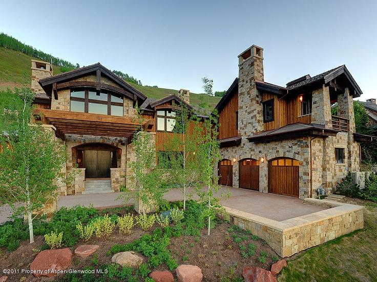 71 best images about aspen million dollar homes on pinterest for Modern million dollar homes