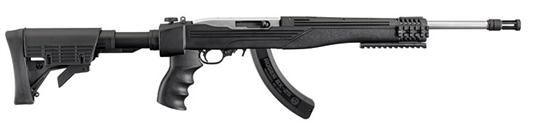 Ruger 10/22 Tactical W/I-Tac Stock, Folding Stock, SS, 25 Rnd Mag