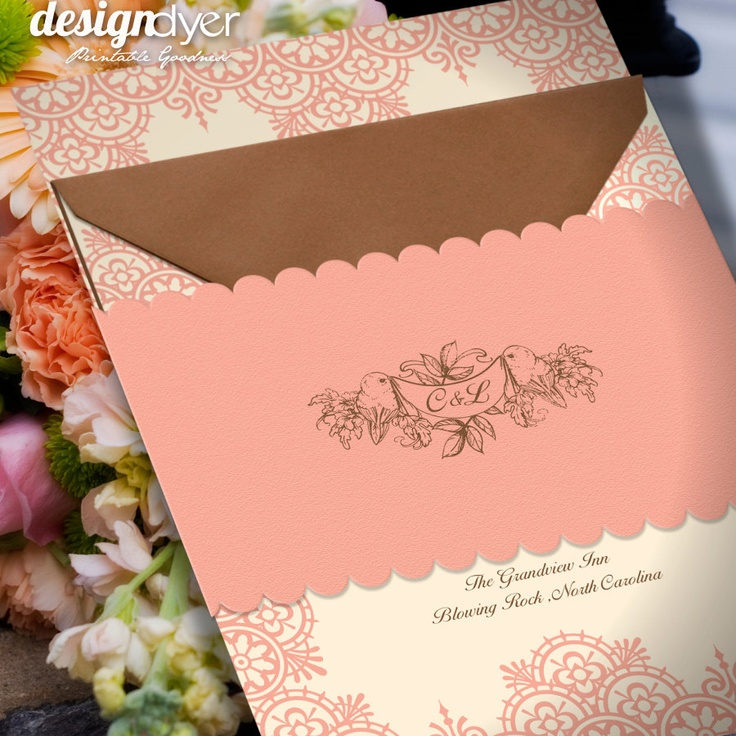 wedding invitations east london south africa%0A DIY Wedding Invitation Printable Suite Love Birds by designdyer