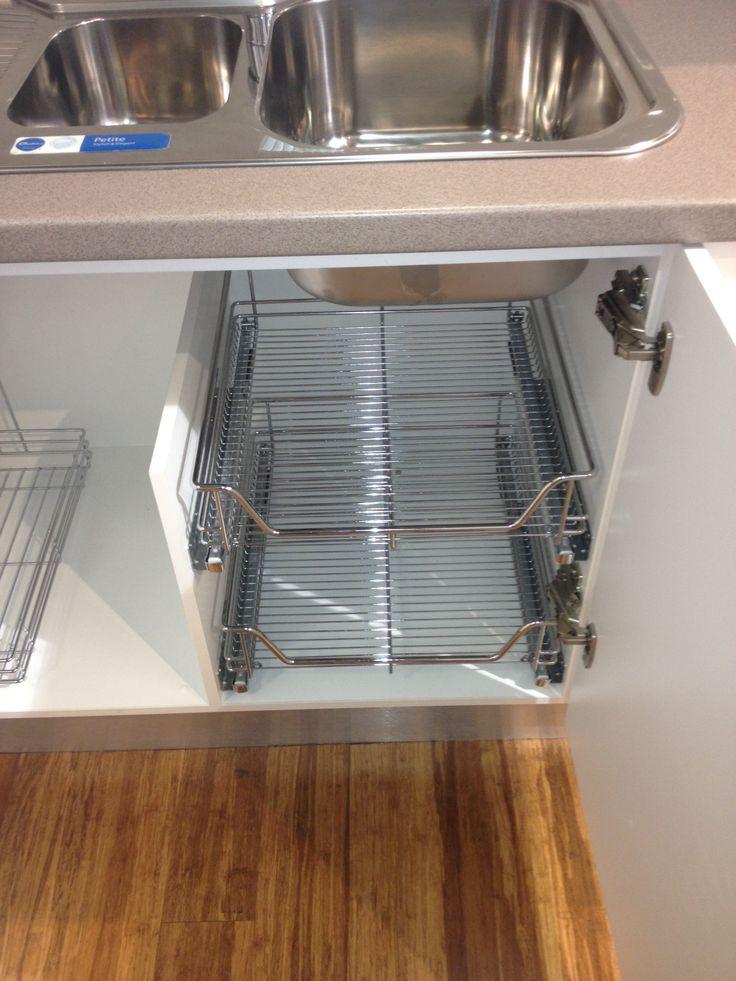 under the kitchen sink storage also will work well in the bathroom - Kitchen Design Sink