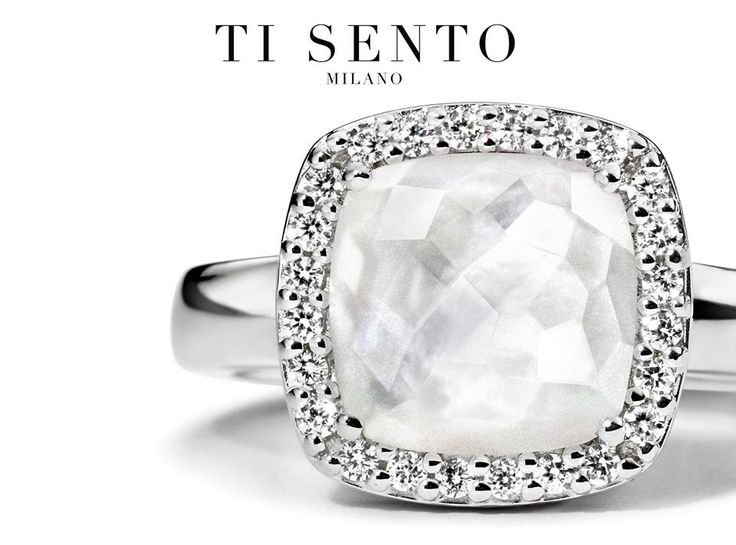 This Ti Sento ring is elegant and divine #LoveTiSento