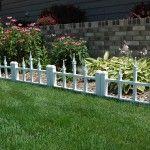 6 New Decorative Metal Garden Fence