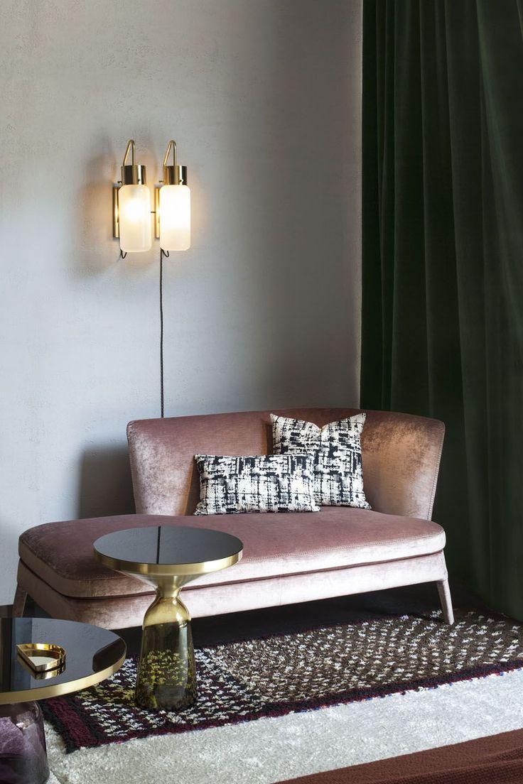 Bedroom Decor On Pink Sofacolorful Interiorsart Deco