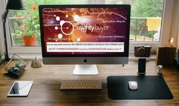Mighty Buyer egy profin és hivatalosan regisztrált vállalkozás, eredetileg Németországban alapítva, ami 4 évi alapítási- és előkészítési időszak után 2016.november 1-én elindult. Az első nag