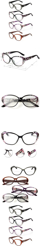 LianSan 4 Pairs Quality Cat Eye Frame Men Women Reading Glasses include Bifocal Readers L3707(+2.25)