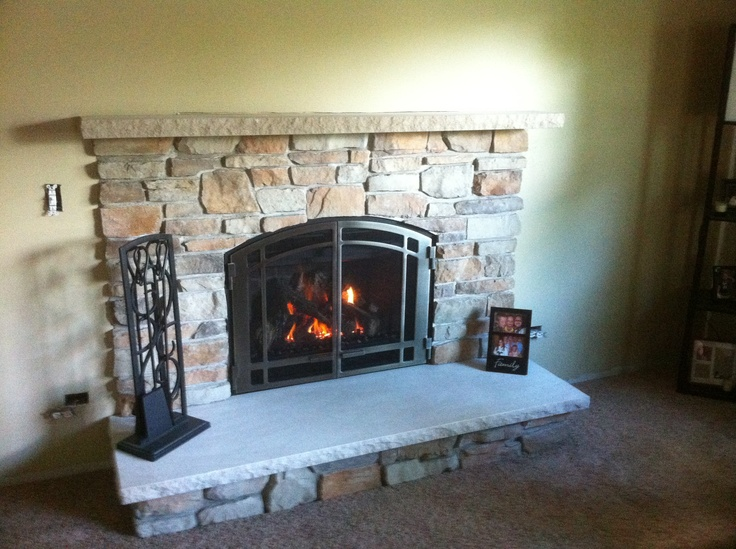 Northwest Metalcraft Designed This Direct Vent Fireplace