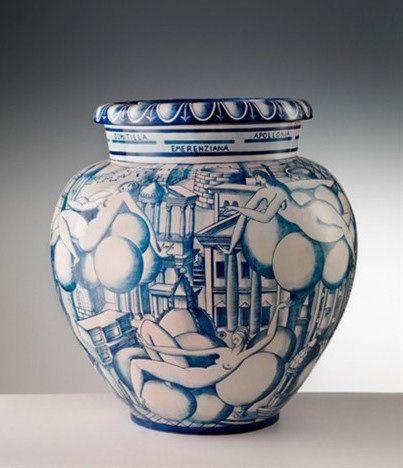 Vase of Women and Architectures | Gio Ponti