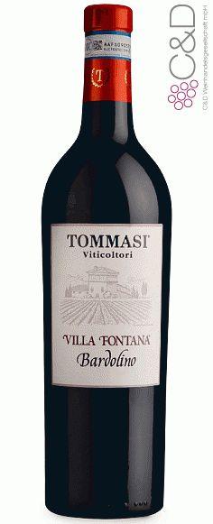 Folgen Sie diesem Link für mehr Details über den Wein: http://www.c-und-d.de/Veneto/Bardolino-Classico-Villa-Fontana-2015-Tommasi-Viticoltori_72348.html?utm_source=72348&utm_medium=Link&utm_campaign=Pinterest&actid=453&refid=43   #wine #redwine #wein #rotwein #veneto #italien #72348