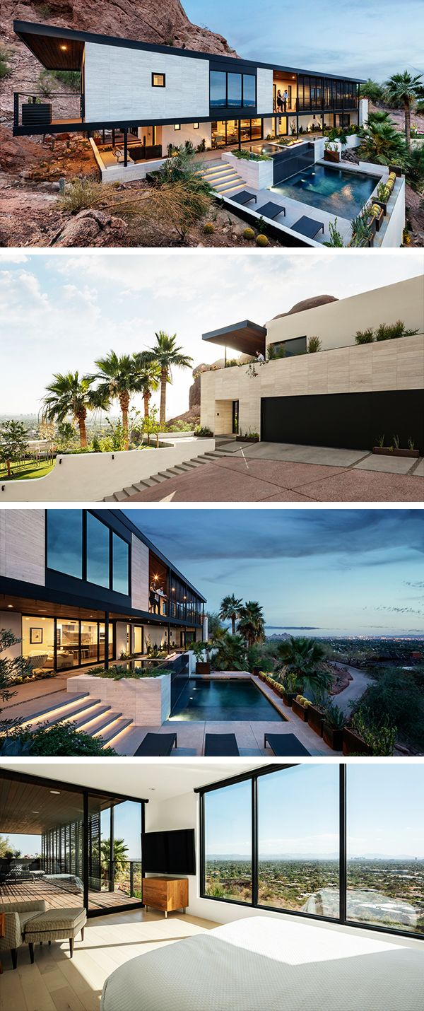 Red Rocks Residence By The Ranch Mine In Phoenix Arizona Phoenix Homes Arizona Mountains Outdoor Design