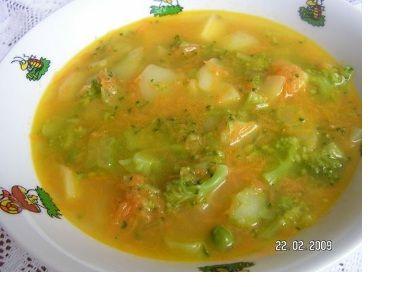 Zeleninová baby polévka