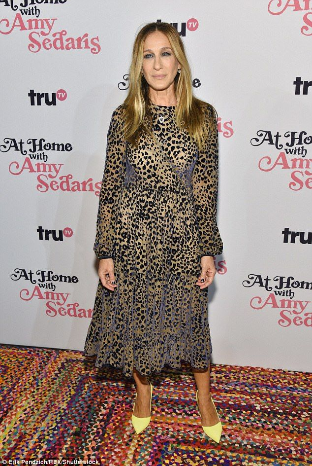 3232e9266a94 Sarah Jessica Parker steps out for At Home With Amy Sedaris premiere ...