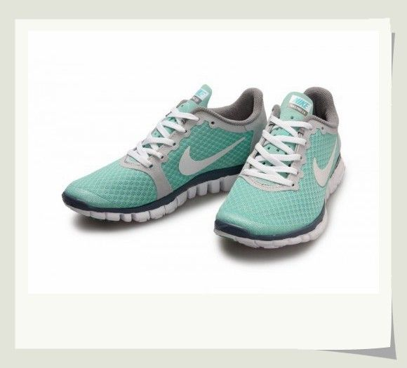 Supply Nike Free 3.0 V2 Womens Shoes Pot Gray Blue discount