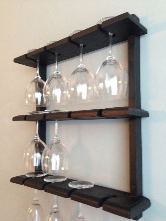 Best 25 Wine Glass Rack Ideas On Pinterest