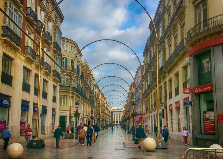 Calle Larios de Málaga - Calle Larios de Málaga. Centro de la city.