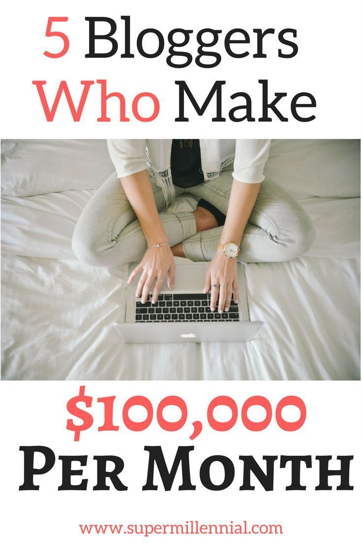 Make money online by starting a blog! These five bloggers earn money each month by creating great content, helping people, and monetizing their blog. Learn how they make money online here!
