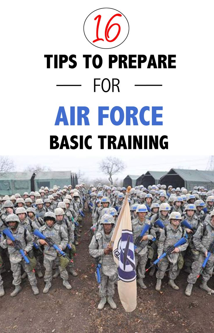 Get prepared for Air Force Basic Military Training with these 16 Tips! #AirForce #BMT #KyleGott