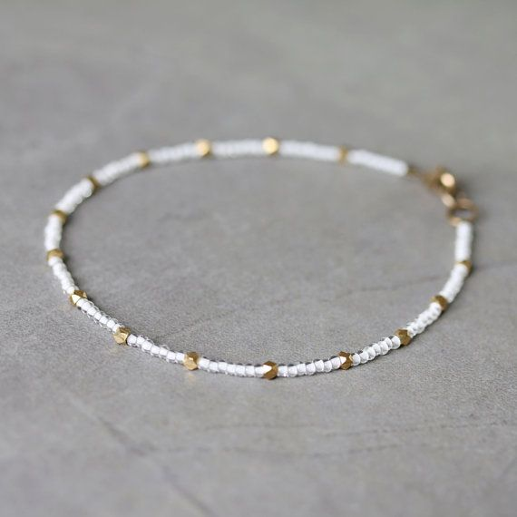 Neon Beaded Anklet | Claire's