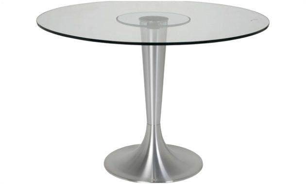 table ronde en verre conforama image