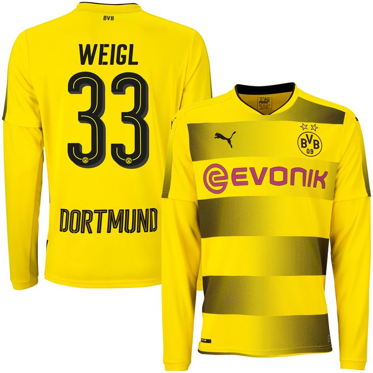 Borussia Dortmund Shirt Thuis 2017-2018 (Lange Mouwen)  Weigl 33
