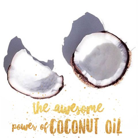 The awesome power of coconut oil!