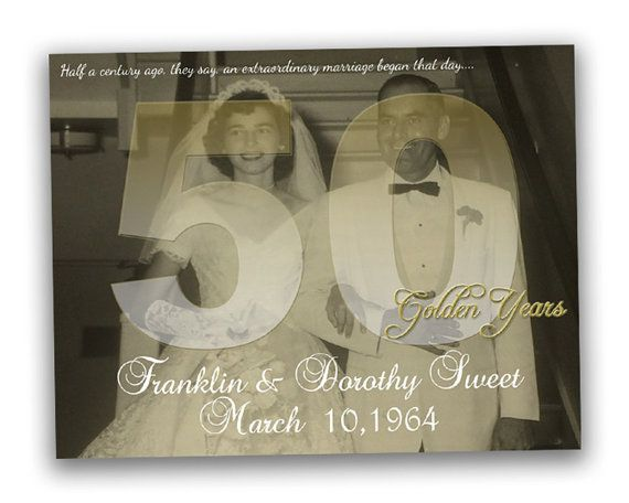 Gift For 50th Wedding Anniversary Ideas: 17 Best Ideas About 50th Wedding Anniversary Gift On