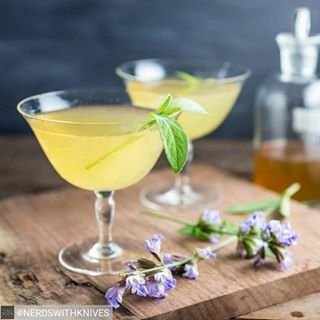 Bees Knees   21 Easy Christmas Party Cocktails To Make This Year