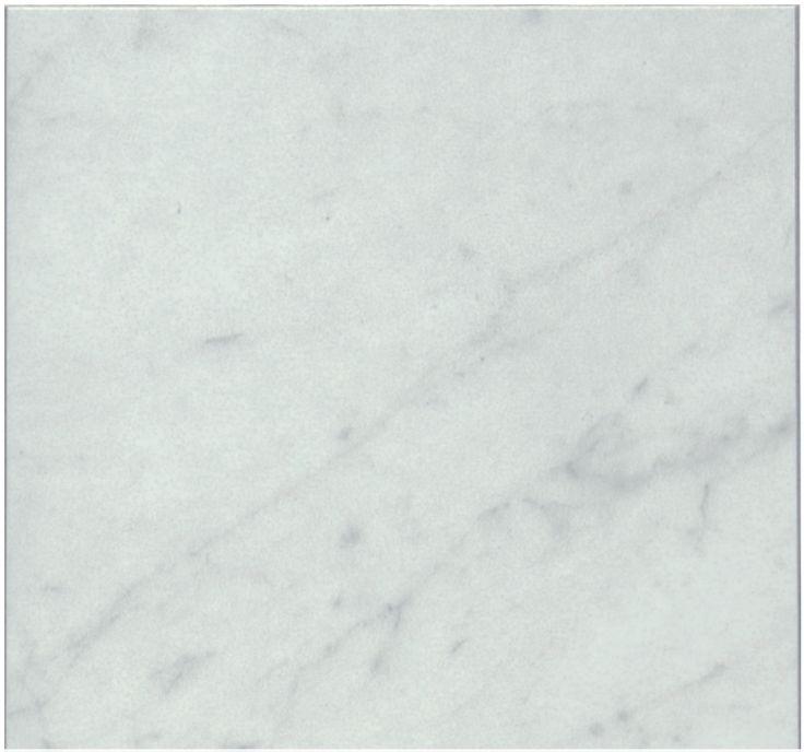 Shining Carrara Vit Blank 15x15 cm hos Stonefactory.se