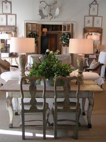 Décor de provence lisa luby ryan love the table chairs