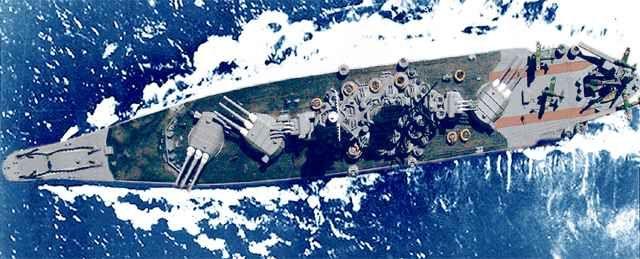 Yamato-class battleship, IJN Musashi