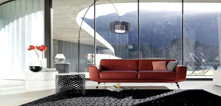 Roche bobois perle 2 large 3 seat sofa design sacha - Canape angle roche bobois ...