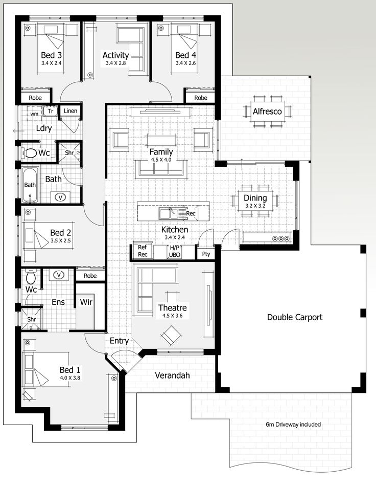 7 best House Plan - 15m images on Pinterest Evolution, Perth and - design homes floor plans