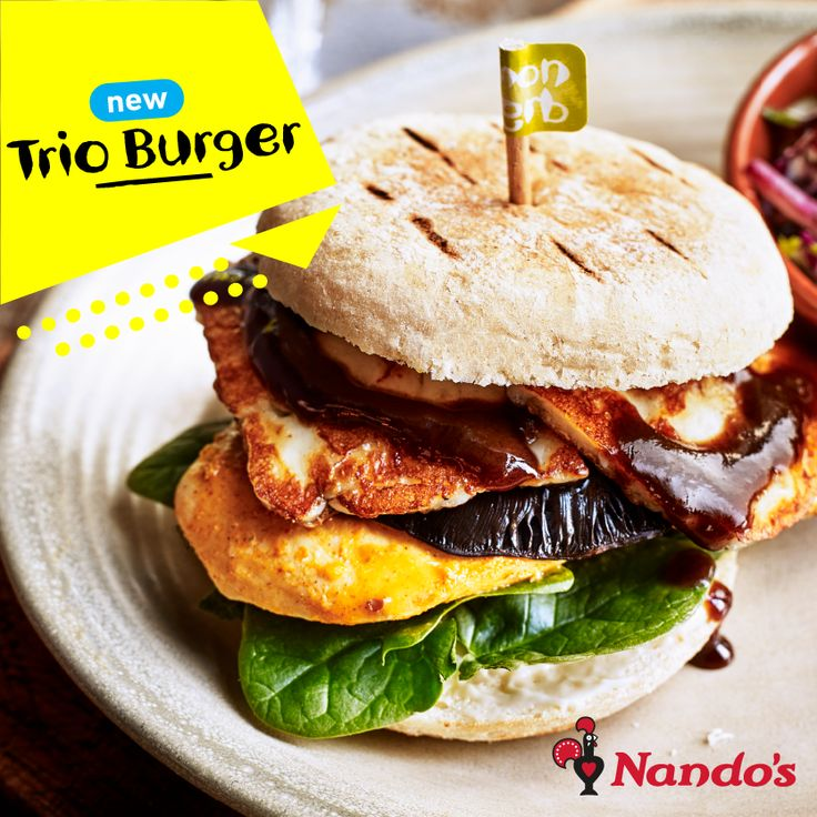 The latest arrival @nandos @whitewatersc . Delicious!