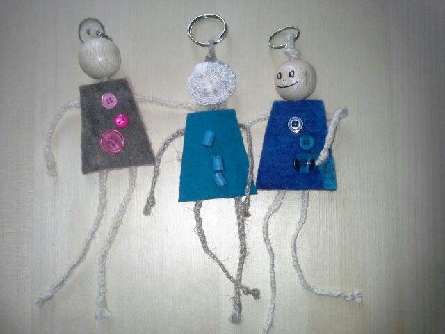Felt hanger, my favourite babyshower present
