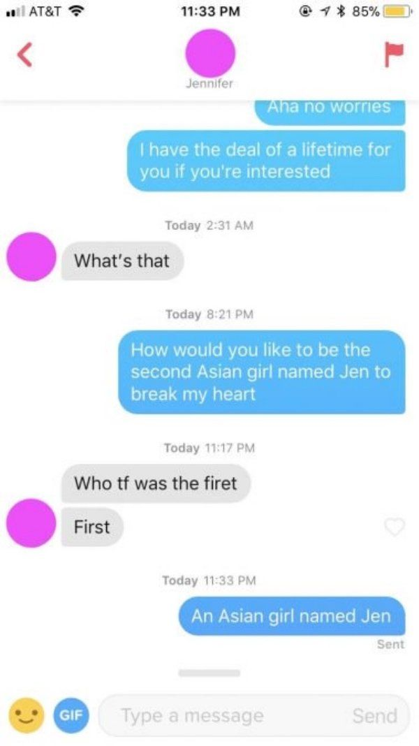 24 Surprising Things Seen On Tinder Tinder Messages Funny Dating Quotes Funny Text Messages