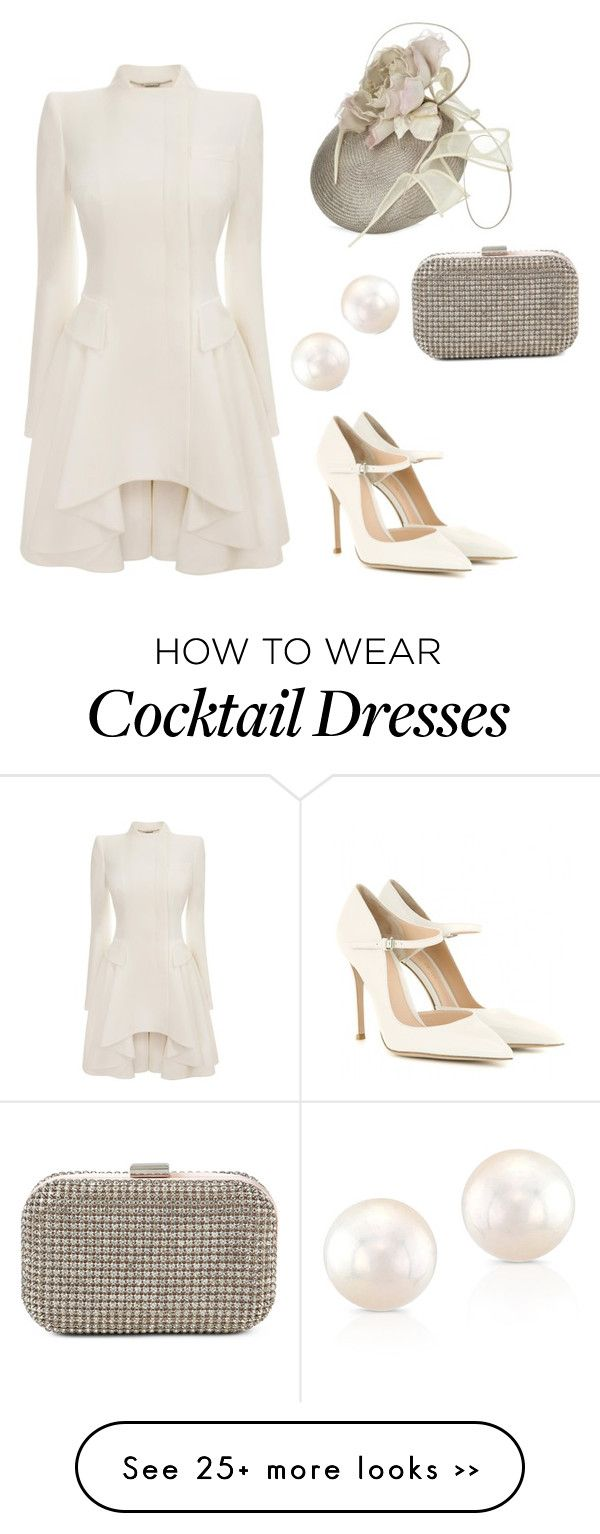 """""""❤️"""" by sarasaab on Polyvore featuring Alexander McQueen, JANE TAYLOR MILLINERY, ALDO and Gianvito Rossi"""