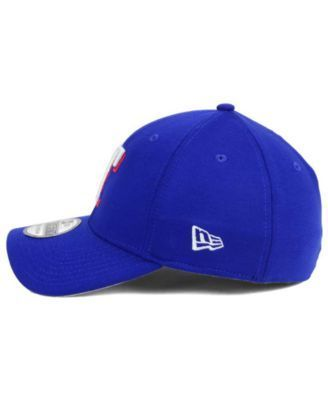 New Era Texas Rangers Team Pennant 39THIRTY Cap - Blue L/XL